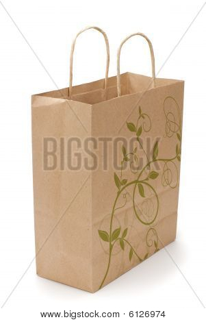 Eco Shopping Bag On White