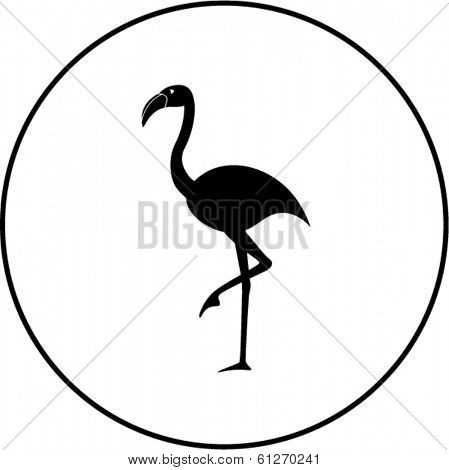 flamingo bird symbol