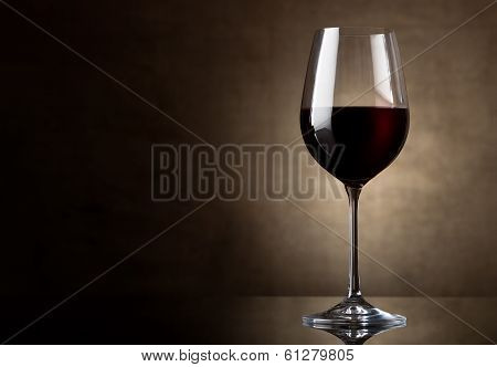 Dry red wine