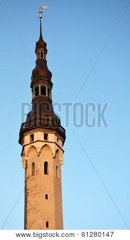 Tower Of The Tallinn Dome Cathedral