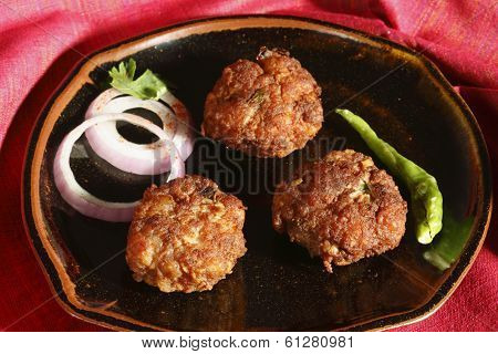 Kacche Kebab - a dish from Hyderabad