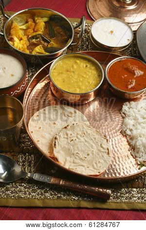 Bhakri - a flatbread  from Gujarat, India