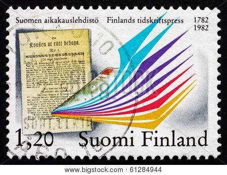 Postage Stamp Finland 1982 Bicentenary Of The First Issue