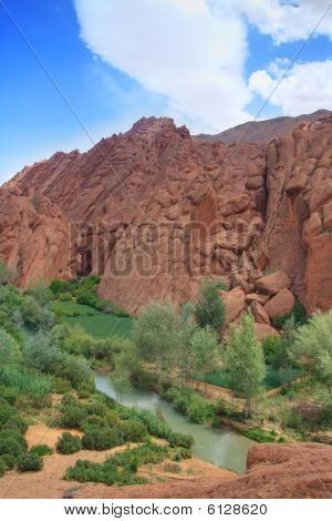Rock Formations In Dades Valley, Morocco