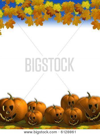 Pumpkin leaf blank