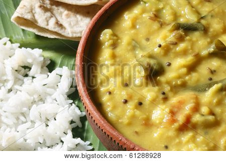 Methi Dal from India