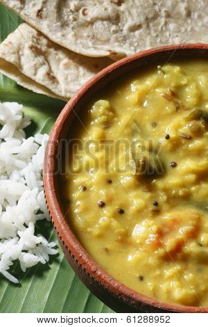 Methi Dal - Lentils from India