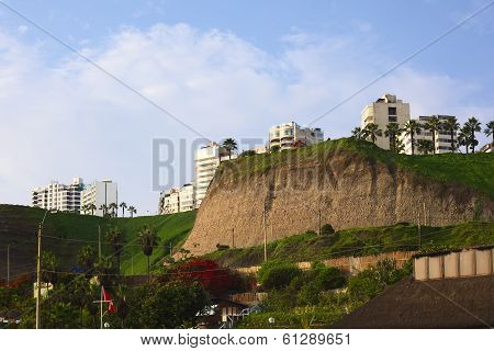 Coast of Miraflores, Lima, Peru