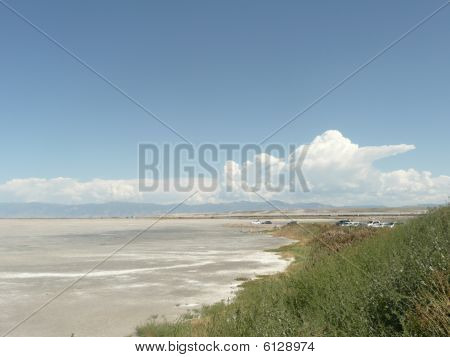 Salt Lake in Utah.