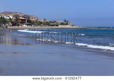 Beach of Mancora, Peru