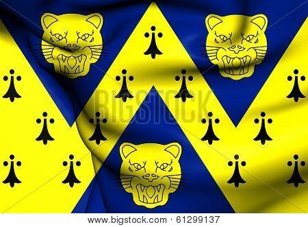 Flag Of Shropshire