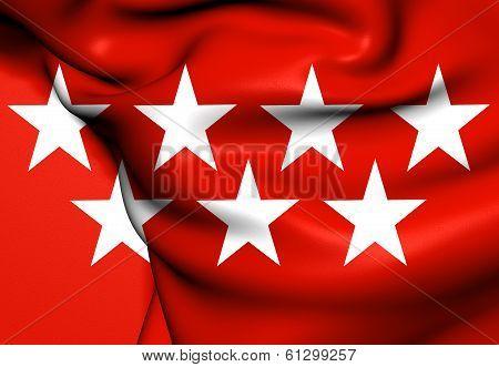 Community Of Madrid Flag