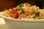 Chow Mein Is A Generic Chinese Term For A Dish Of Stir-fried Noodles. poster