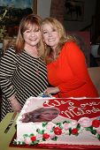 LOS ANGELES - MAR 4:  Patrika Darbo, Melody Thomas Scott at the Melody Thomas Scott Celebrates 35 Ye