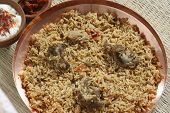 stock photo of biryani  - Mutton Gosht Biryani  - JPG
