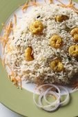 picture of biryani  - Prawn Biryani  - JPG