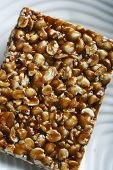 stock photo of groundnuts  - Chikki is a traditional ready - JPG