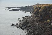 Landhead Called Seobjicoji, Famous Place In Jeju Island.