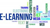Word Cloud - E-learning