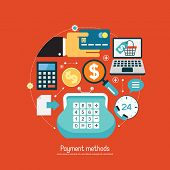 picture of payment methods  - Concept payment methods - JPG