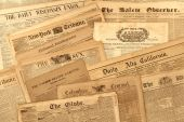 Vintage Newspaper Collection