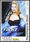 Rosamund Pike Stamp