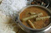 Drumstick Sambar - A lentil soup from India