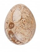 Easter egg made of Jasper. Jewelry of semi-precious stones.