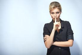 stock photo of hush  - Hush - JPG