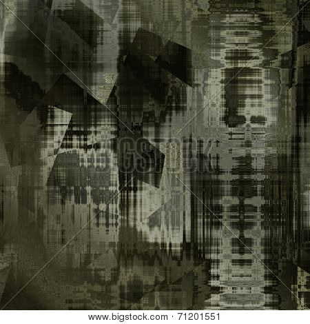art abstract grunge dust textured monochrome background in black, grey, sepia and white colors