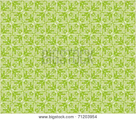 Green Seamless Background.