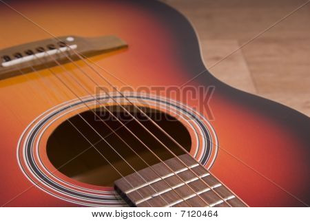 Close-up Of A Guitar