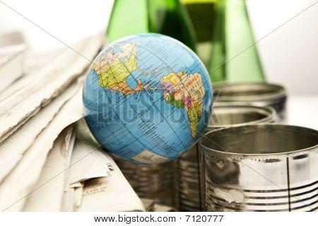 Itens recicláveis