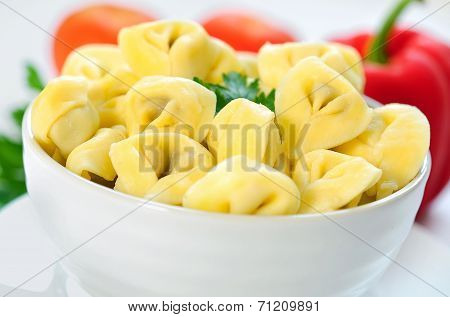 Bowl With Tortellini