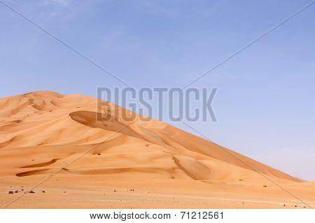 Sand Dunes In Oman Desert (oman)