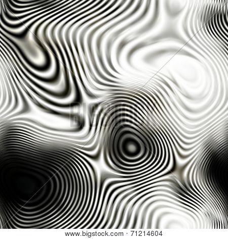 art abstract monochrome fractal seamless pattern; background in black and white colors