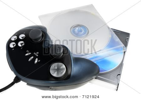 game pad with the discs