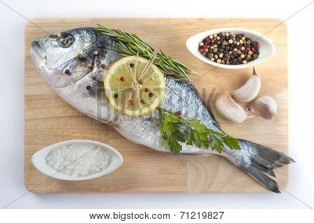 Gilt-head Sea Bream With Spices And Herbs