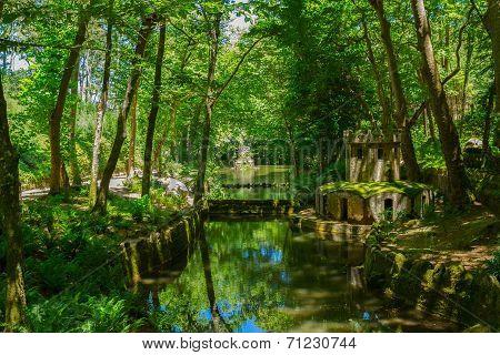 Gardens of Pena, SIntra, Portugal