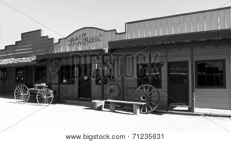 Old West Cowboy Town