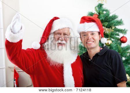 Weihnachten portrait