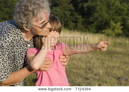 garandmother and grandchild