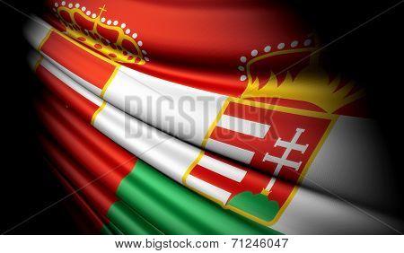 Flag Of Austria-Hungary (1867-1918)