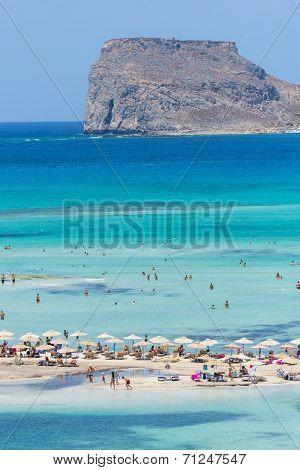 Gramvousa Island And The Balos Lagoon