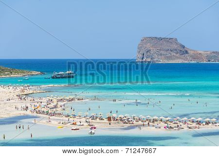 Gramvousa Island And The Balos Lagoon