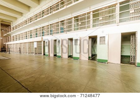 Alcatraz D Block Cellhouse, San Francisco, California