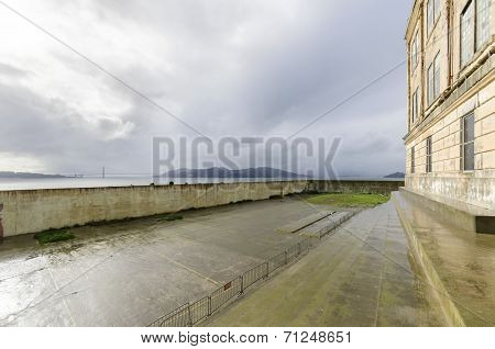 Alcatraz Recreation Yard, San Francisco, California