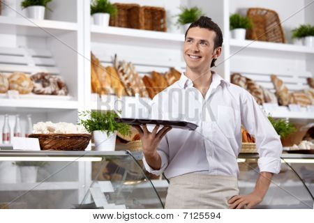 The Smiling Waiter