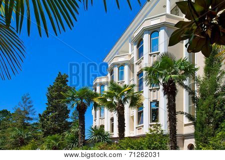 The Architecture Of The Southern Resort City Of Sochi.