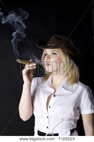 Cowgirl Smoke